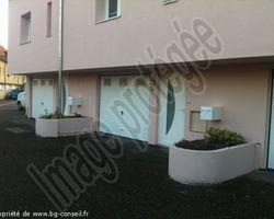 Bg Conseil - Pulversheim - Rénovation d'un collectif / Porte,porte de garage,Velux/
